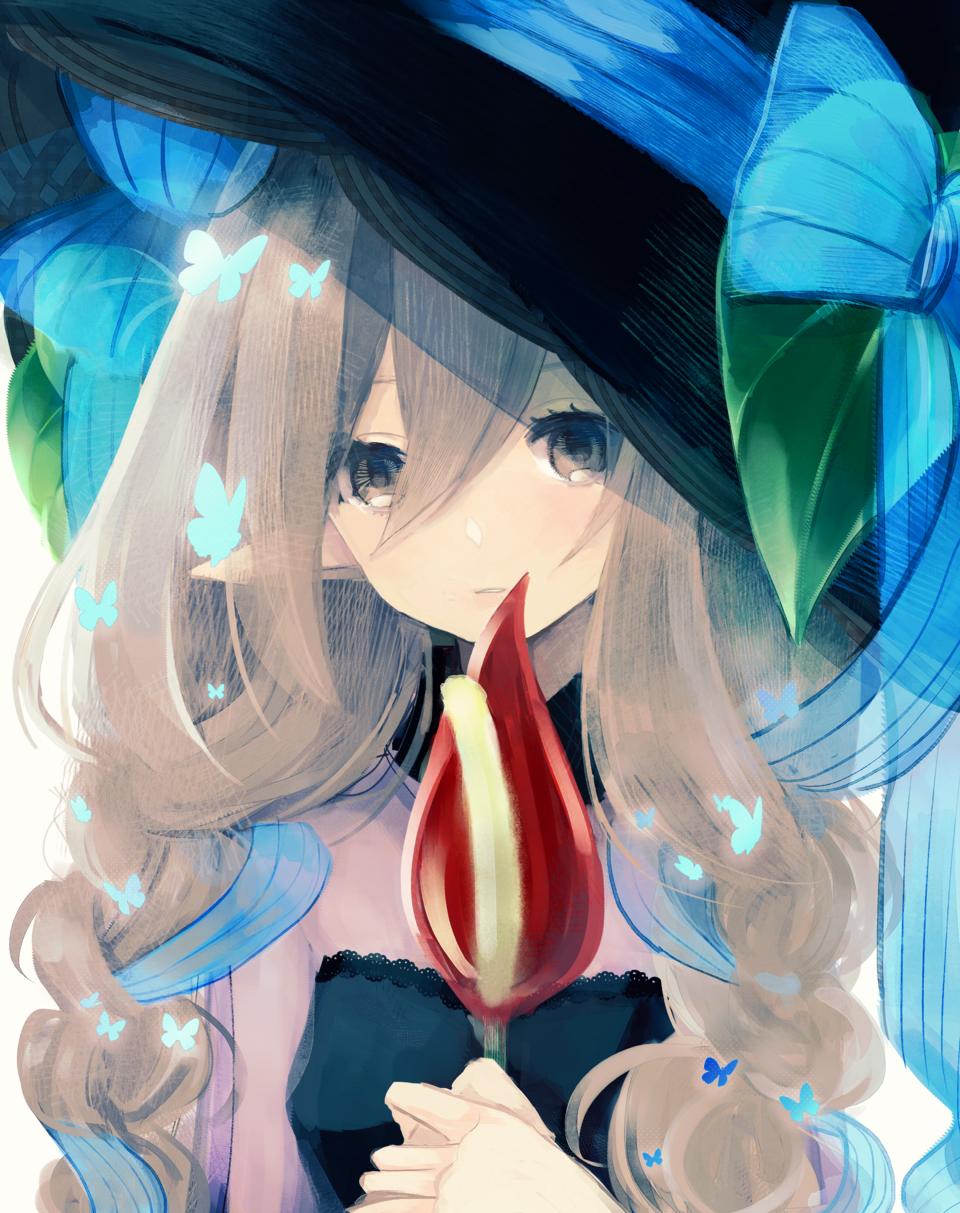 モルフォ蝶の魔女 Illust of ちろりるら 2ndMCPOillustration