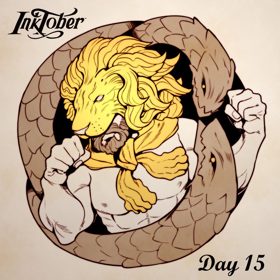 Inktober DAY 15: Legend