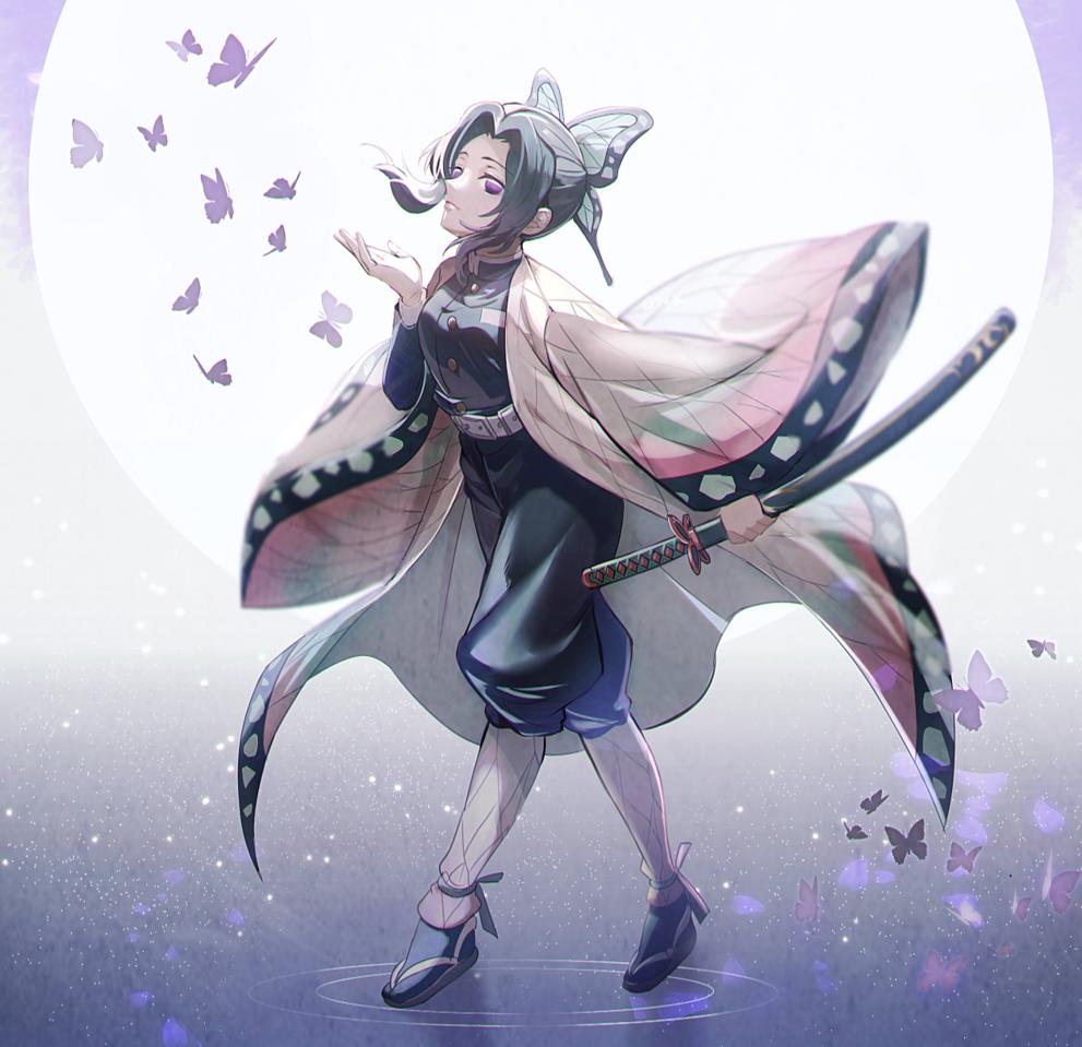 胡蝶しのぶ Illust of onk KochouShinobu medibangpaint KimetsunoYaiba