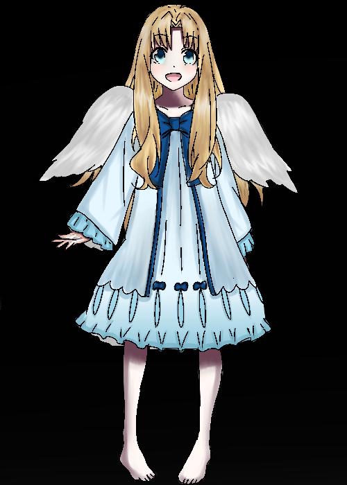 Filo( Filolis Queen) Illust of Emaan wings girl Filolis Slave pastel cute Tatenoyussha queen