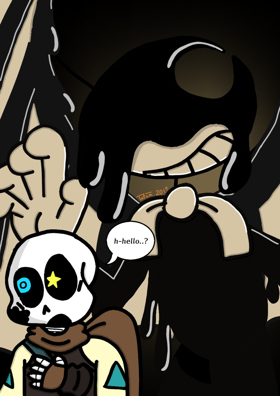 Bendy and the Ink Sans! - Kemukujara | Illustrations - ART street by