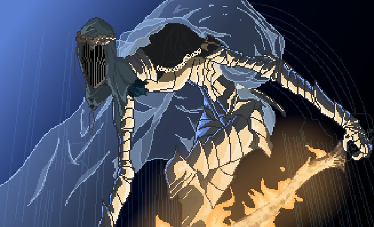 Dancer - Dark Souls 3 Illust of rabbitretch medibangpaint darksouls3 fanart dark-souls-3 pixel-art DARKSOULS SMA-EX3KUMAMOTO