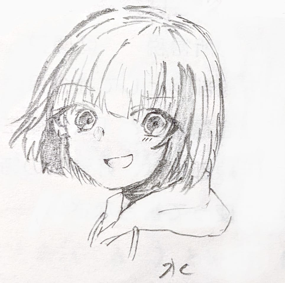新オリキャラ 水 Illust of 海くん January2021_Contest:OC kawaii girl oc