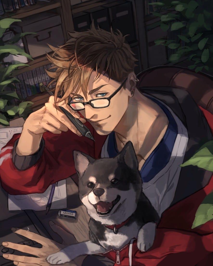 オリジナル Illust of サン 創作イラスト dog original