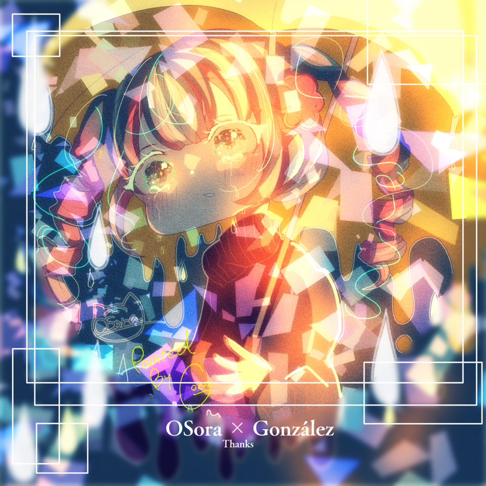 Collab with OSora Illust of ☠🎀ごんざれす🎀💊 kawaii girl OSora きらきら friend Followers collab hatsunemiku