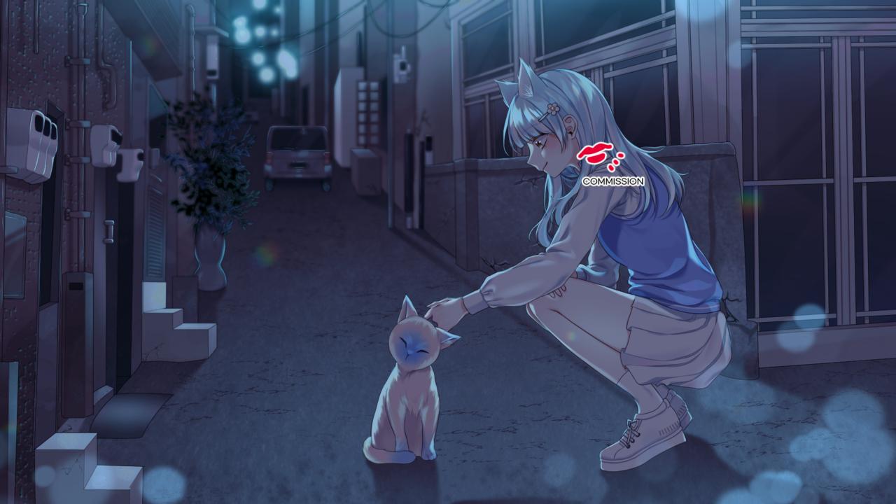 COMMISSION Illust of SYUU 일러스트레이션 illustration イラストレーション