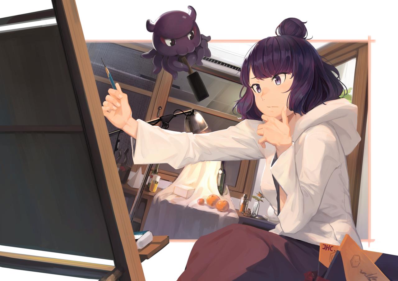 葛飾北齋 Illust of JHC_Kai Fate/GrandOrder 葛飾北斎(Fate)