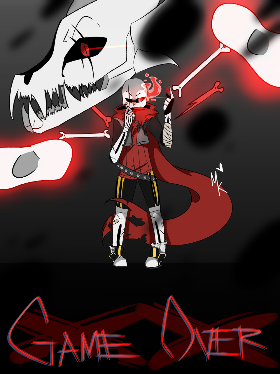 underfell sans - MonolayKay | Illustrations - ART street by MediBang