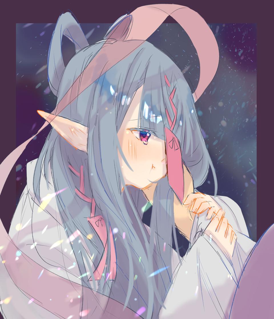 七夕少女 Illust of ト・リ・コ・ス・ケ doodle girl おんなのこ original illustration 織姫 七夕