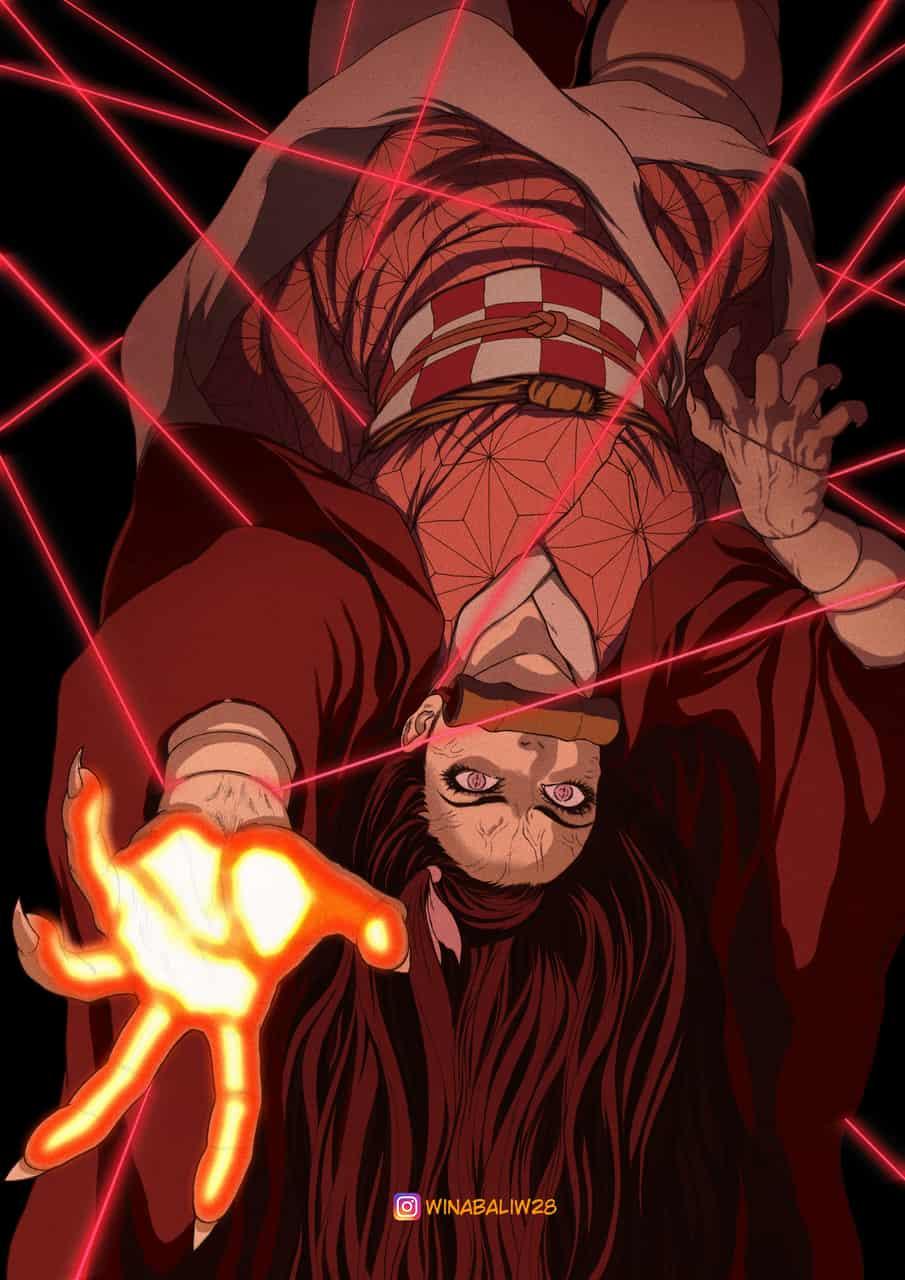 Kamado Nezuko Illust of winabaliw28 DemonSlayerFanartContest anime fanart KamadoNezuko manga drawing KimetsunoYaiba