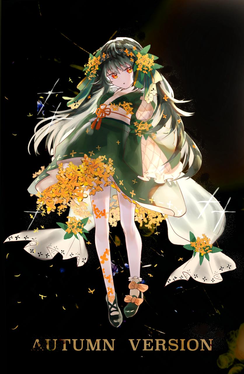 金木犀 Illust of Comuno oc girl flower original