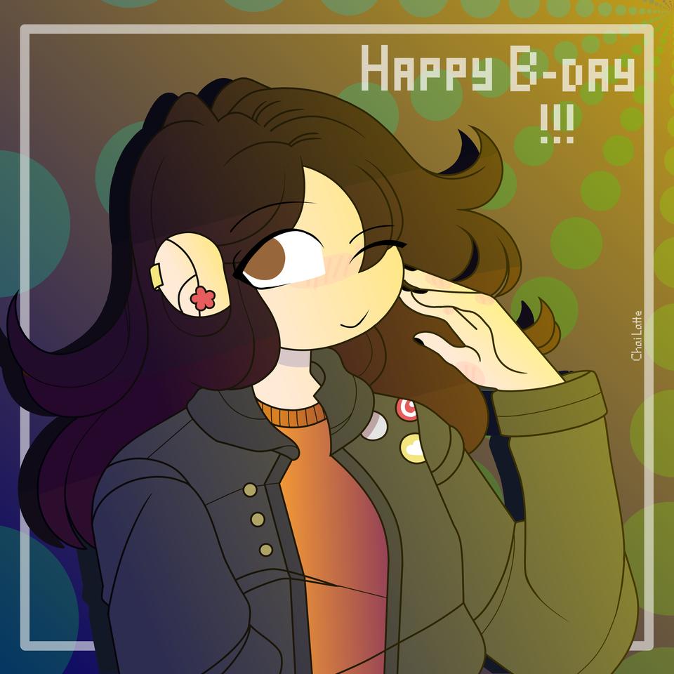 HAPPY (late) BIRTHDAY!