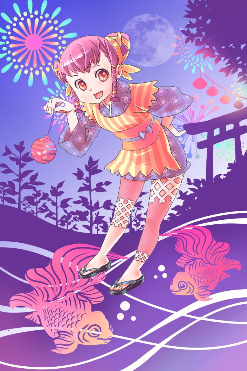 夏夜煙花 Illust of 小麥 Jul.2019Contest