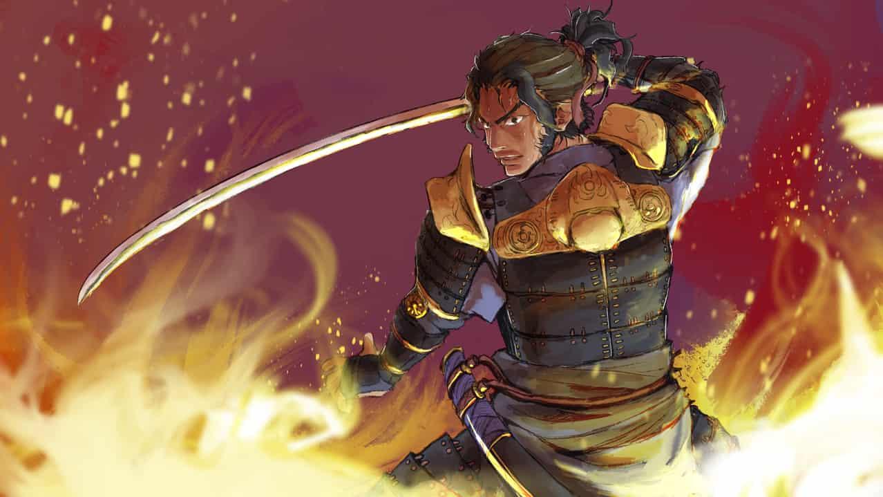 サムライ〜samurai〜 Illust of みやうちBOX fantasy original 刀 異世界ファンタジーのお仕事シリーズ iPad oc メイキング動画 Procreate 侍