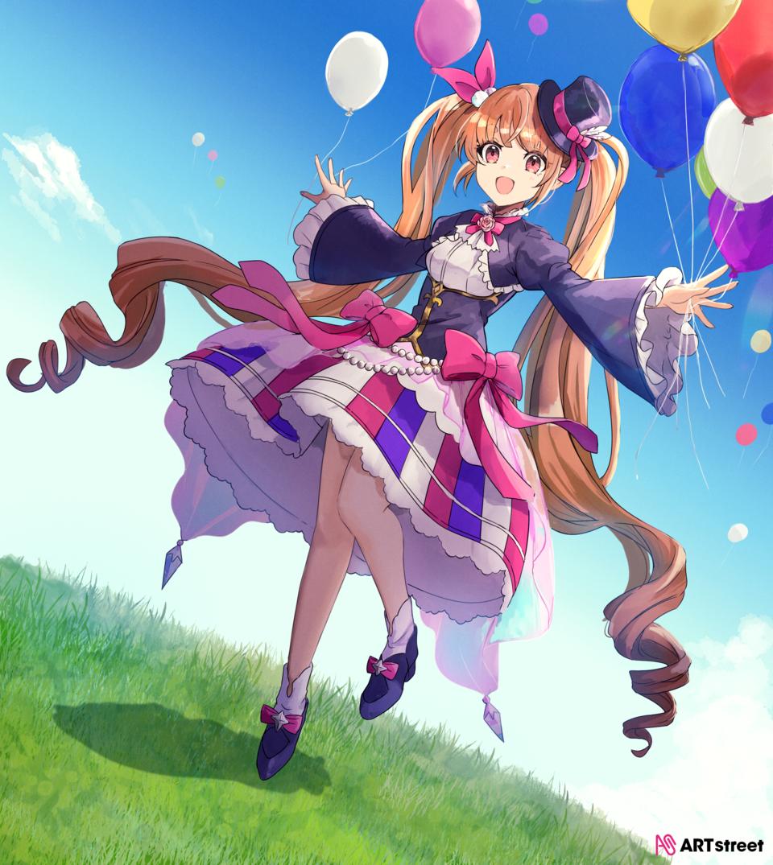 バルーンリリース Illust of 通草 ColoringContest