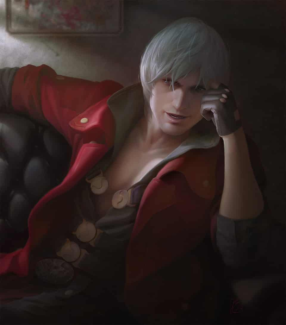 """Dante of """"Devil May Cry"""""""