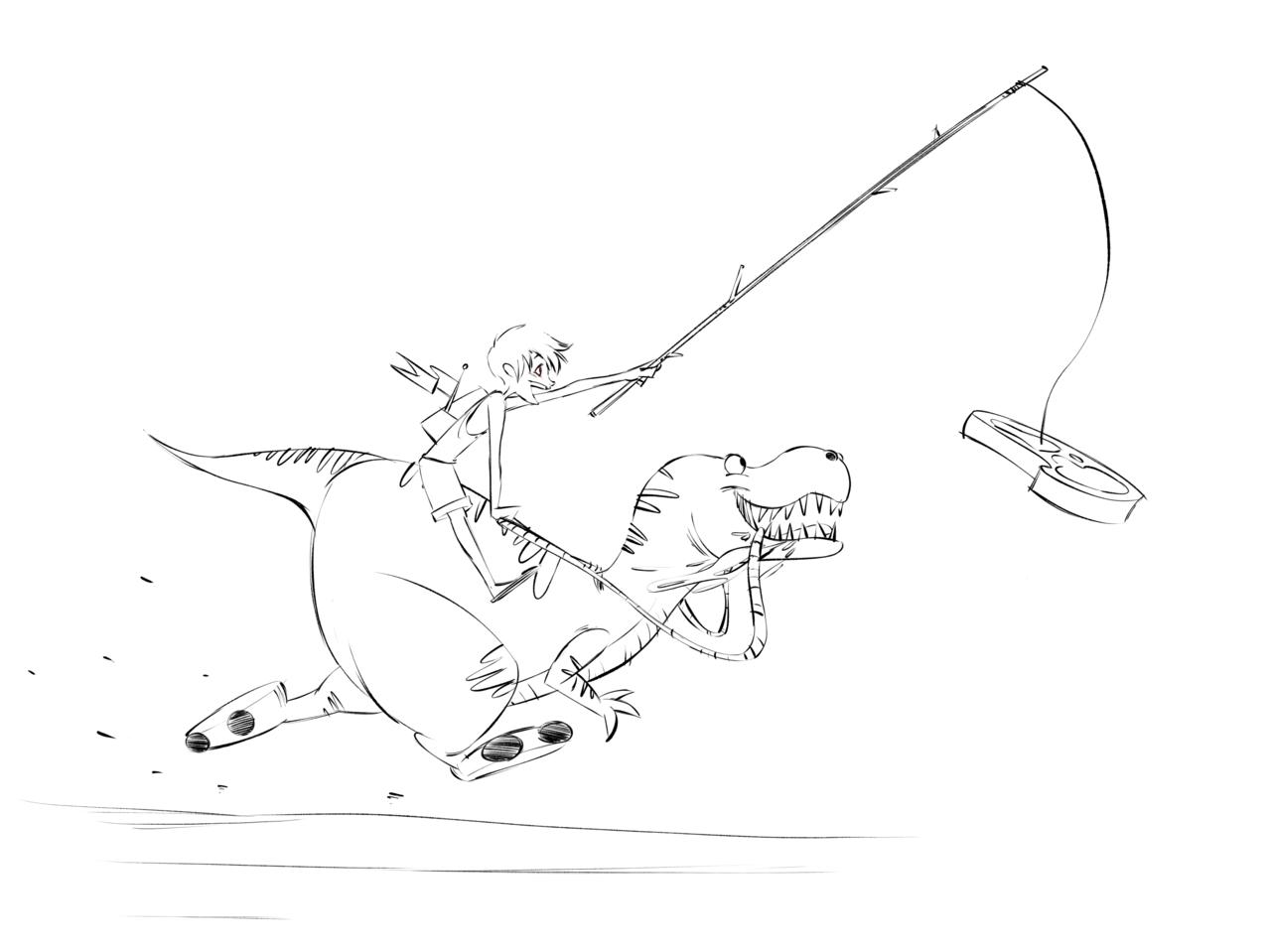 Roy and Pop! Illust of Akio anime drawing animation tutorial doodle medibangpaint