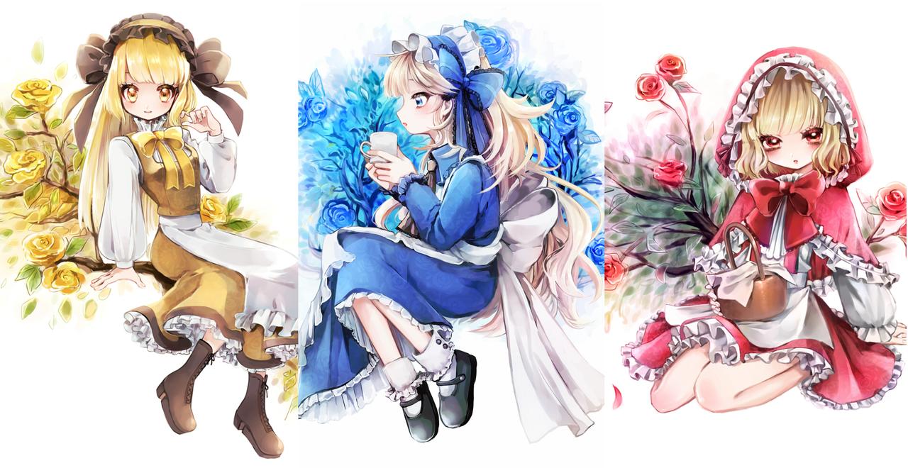 薔薇少女シリーズ Illust of 篠谷すみっこ Post_Multiple_Images_Contest rose girl original