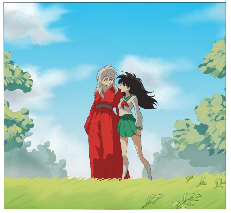 Tallentaja: anime. Dating In Russia Anime Rakkaus, Anime Parit, Anime Taide, Spirited Away, Edward.