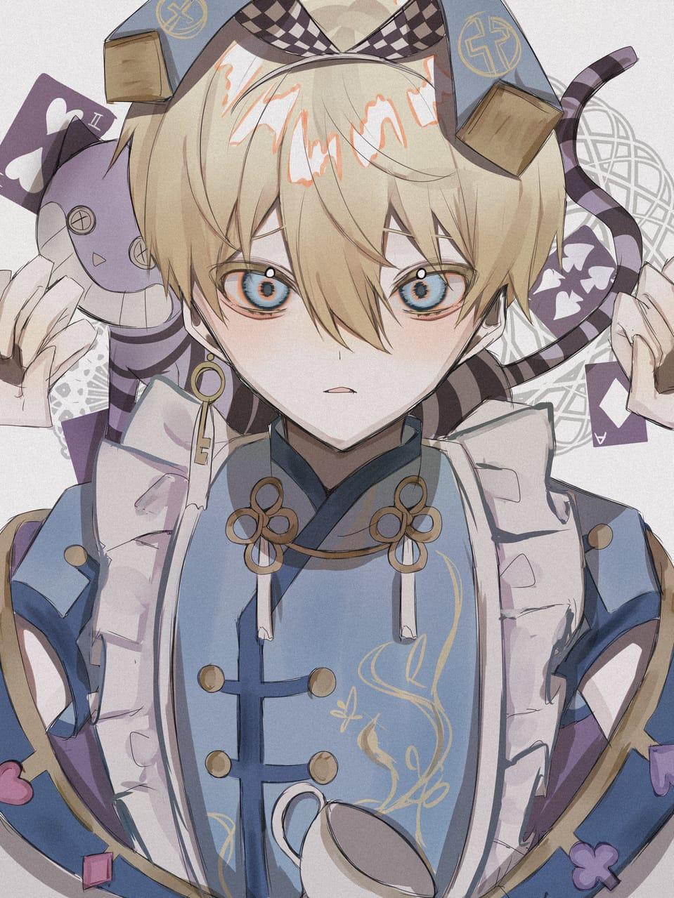 Illust of つぶ February2021_Fantasy oc original Medibang boy