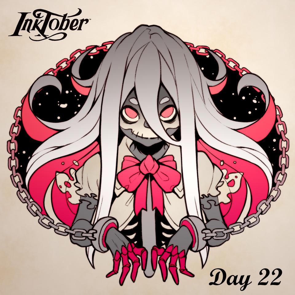 Inktober DAY 22: Ghost