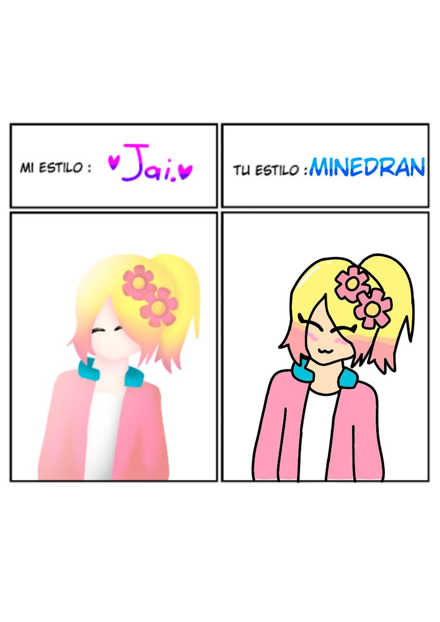 Para Jaiden Illust of MinedRAN medibangpaint