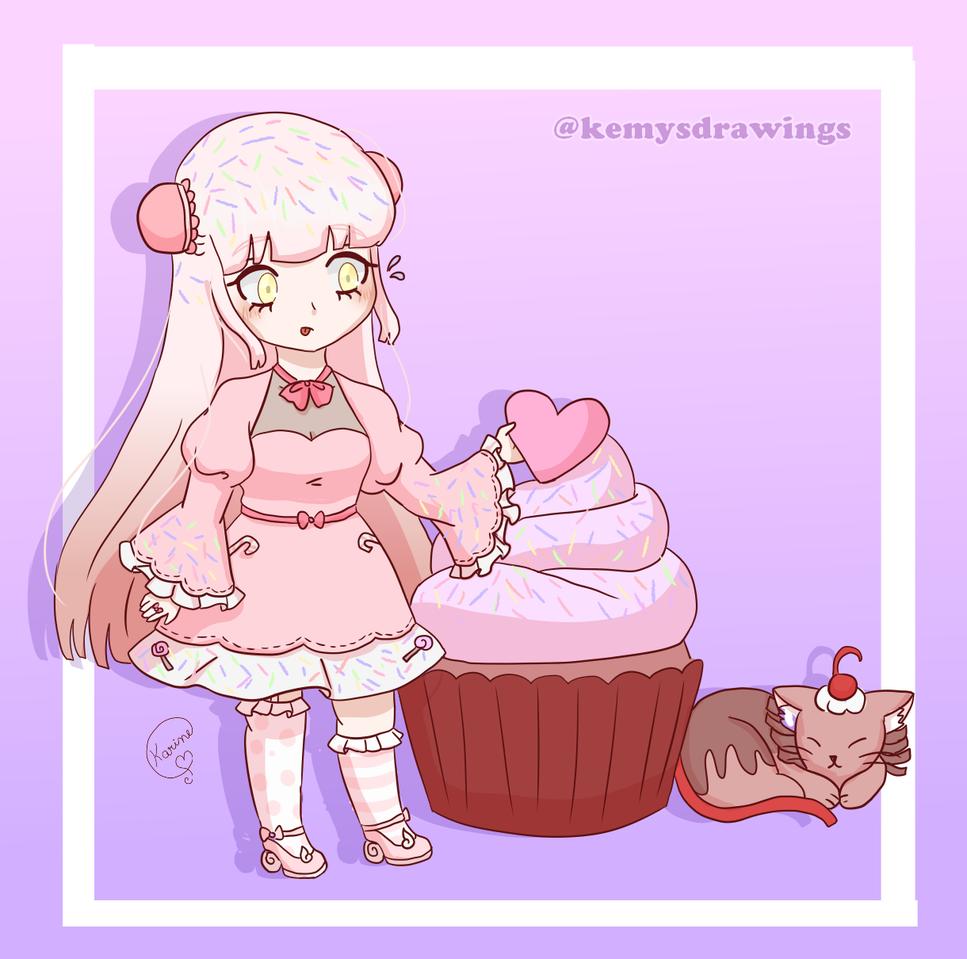 Sugar {OC} Illust of KemyChan myoc anime oc
