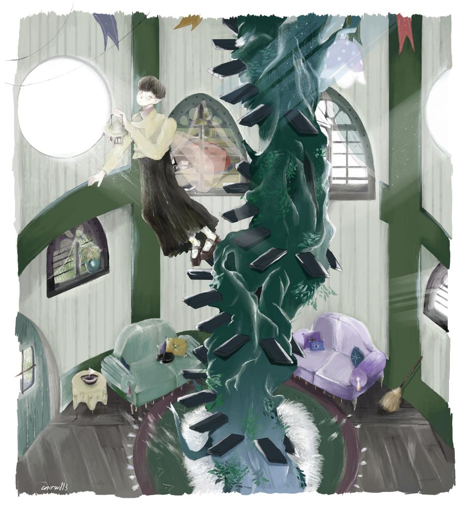 Mushroom House Illust of cnoruu883