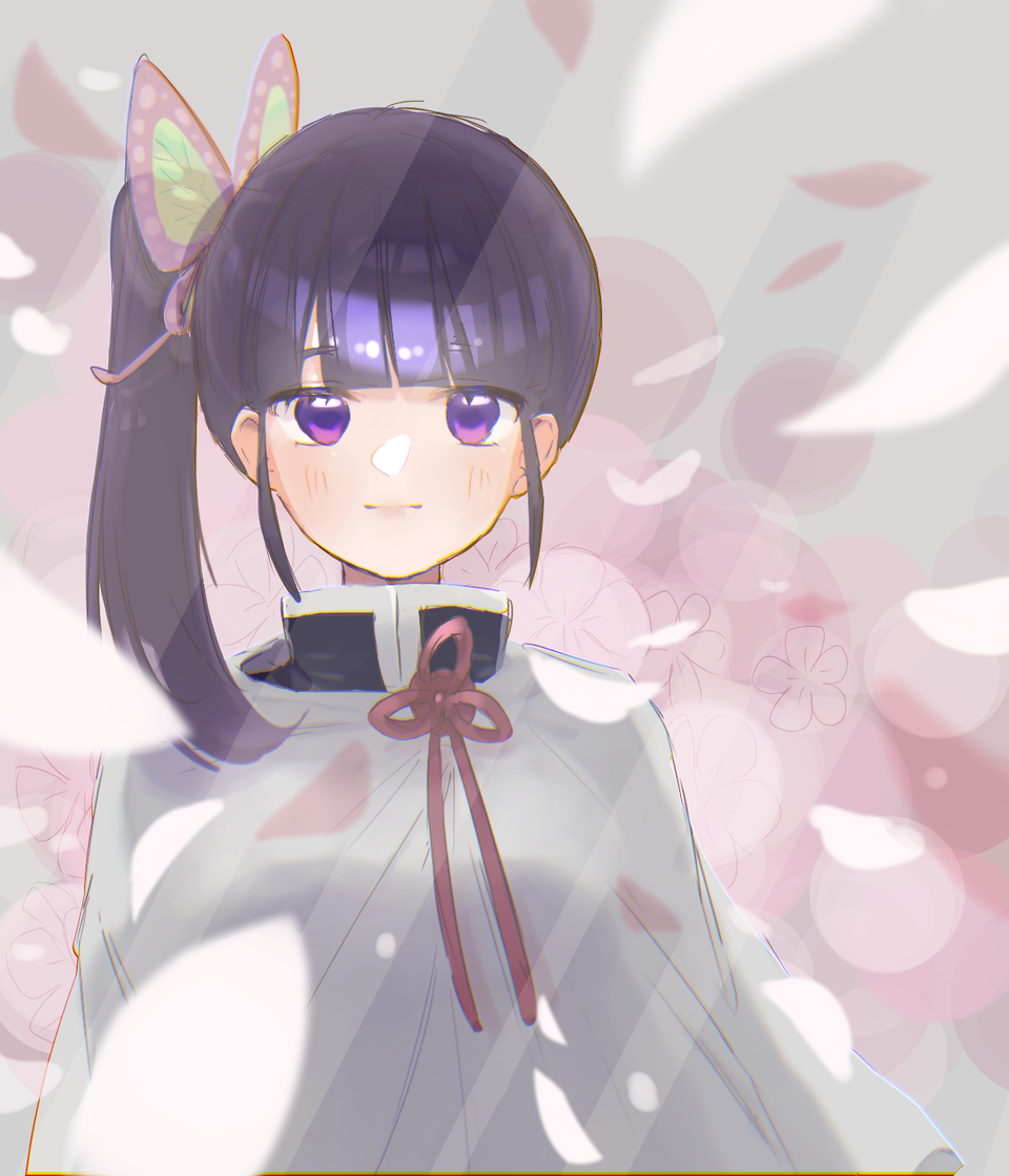 カナヲちゃん描いたった Illust of ト・リ・コ・ス・ケ doodle girl TsuyuriKanao おんなのこ illustration 花の呼吸 KimetsunoYaiba