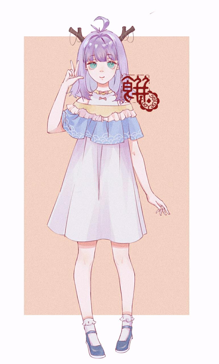 单 Illust of 月饼 medibangpaint