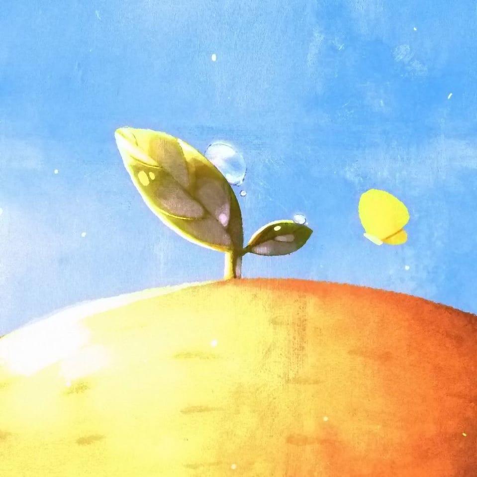 Hello Summer 🌱👒🌞 Illust of Gummy.yy character summer illustrations cute heartwarming thisartshouldlvlup illustration oc