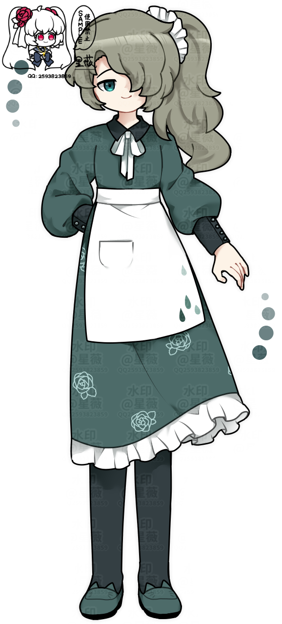 【原创人物】Prteahse Illust of 人形丿星薇 medibangpaint doodle 鸟笼花庭 孩厨 oc original 孩子厨 lazy