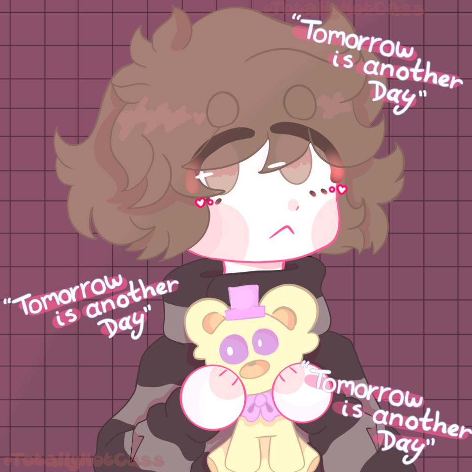 """Tomorrow is another day"" Illust of 🎃👻ƈɦǟʀʟɛֆ_ƈǟռ'ȶ_ɮɛ_ʄօʊռɖ👻🎃 Aftonfamliy FiveNightsatFreddy's Aftons fnaffanart TotallyNotCass"