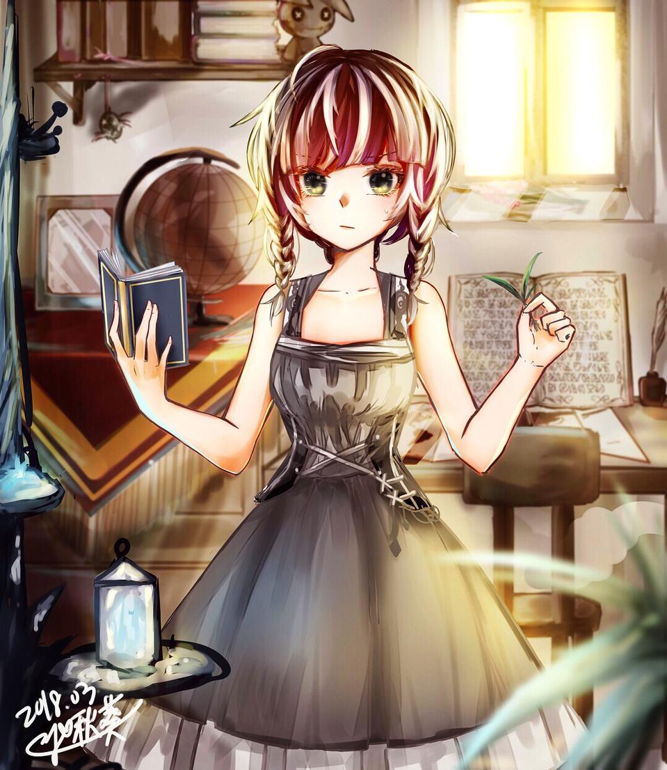 「....你是....?」 Illust of 啾葵 medibangpaint original illustration doodle