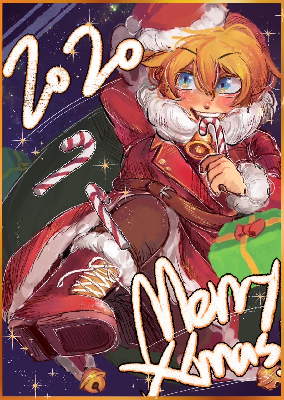 2020聖誕快樂! Illust of aph801bl December2020_Contest:Santa original