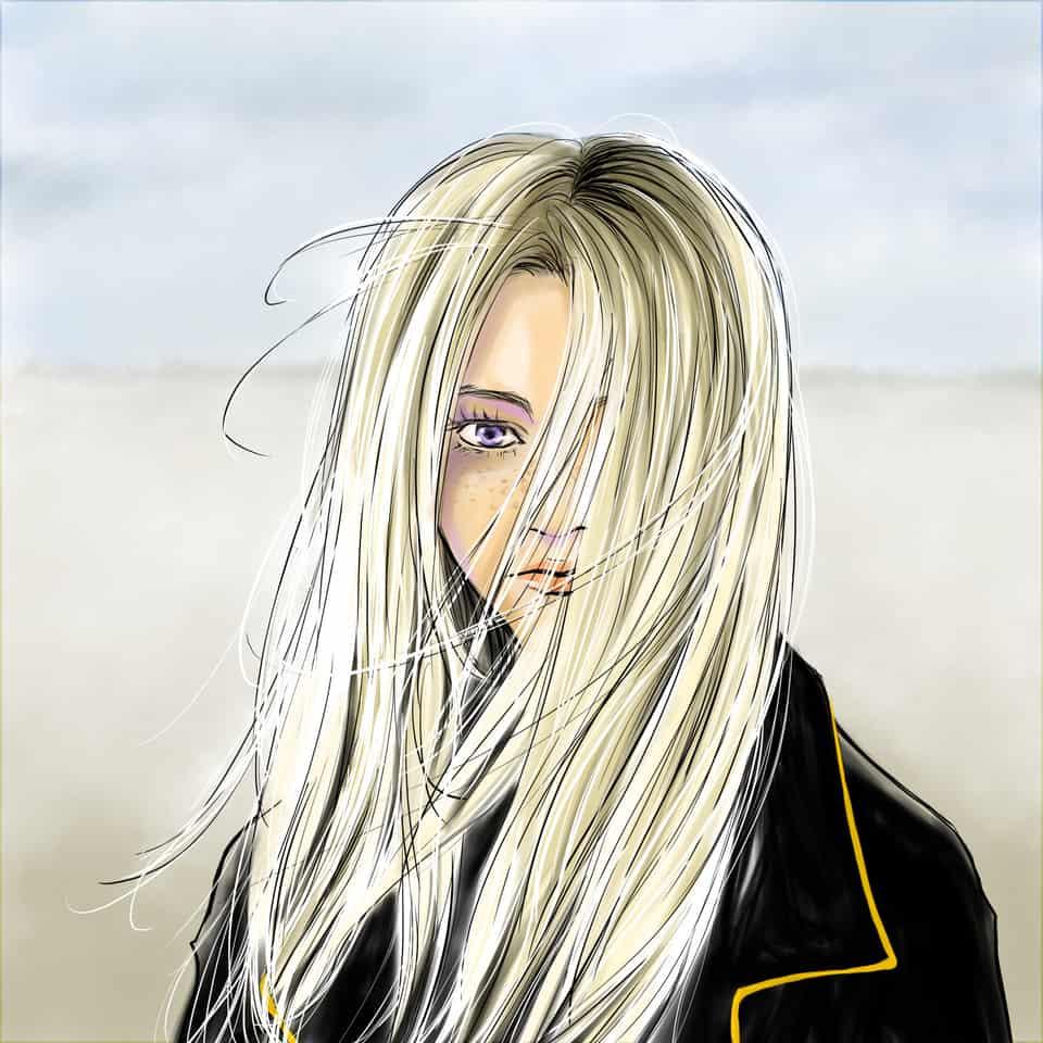 Girl Illust of deepseabed girl original