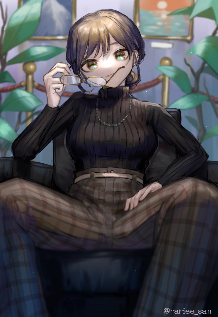 女 Illust of 洗剤 original girl medibangpaint glasses