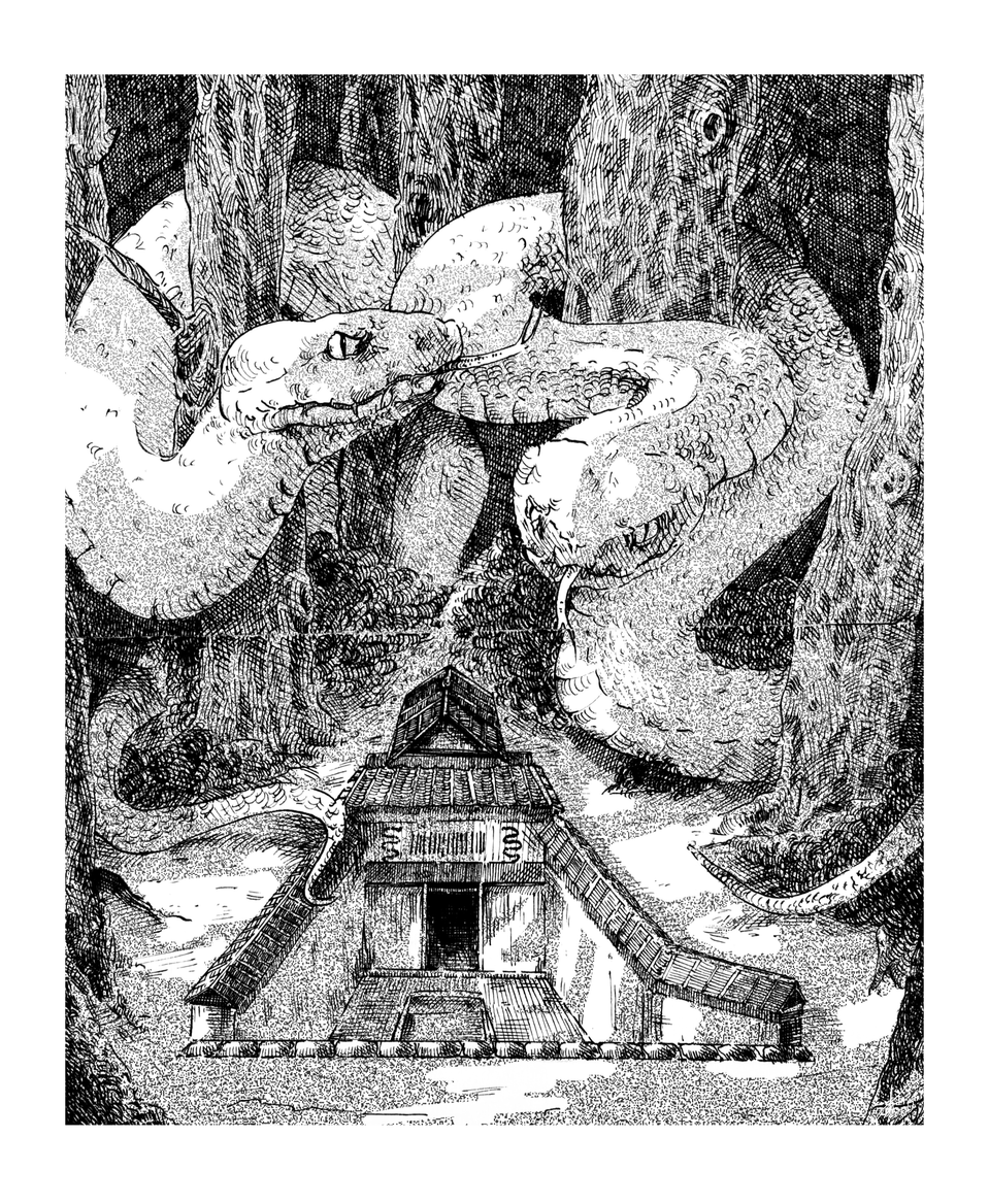 Orochimaru's Lair Illust of AriChy 1stjumpillust medibangpaint NARUTO illustration art