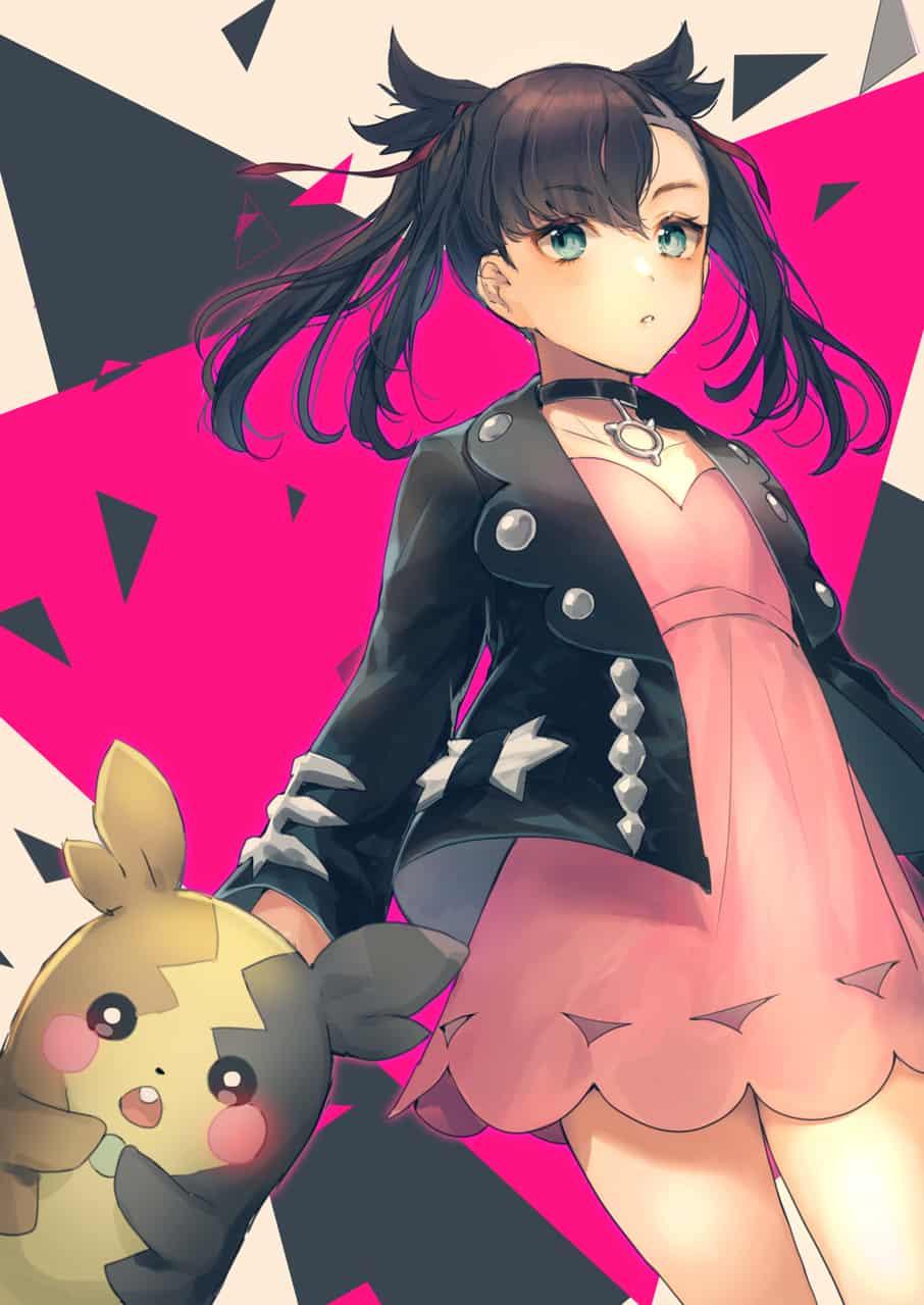 Illust of しのたろう マリィ(トレーナー) マリィ モルペコ PokémonSwordandShield
