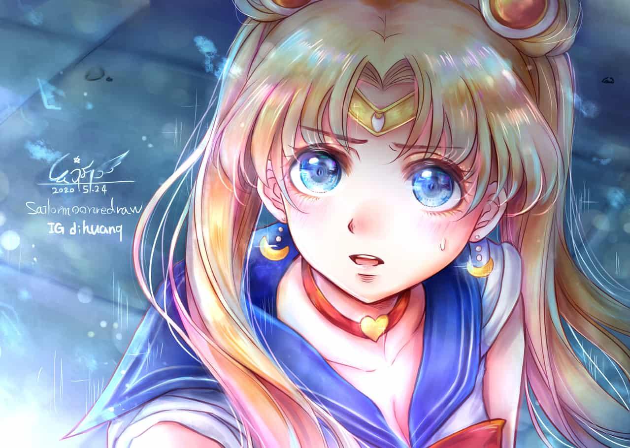 sailormoonredraw Illust of 幻祈 ARTstreet_Ranking PrettyGuardianSailorMoon fanfic UsagiTsukino girl sailormoonredraw
