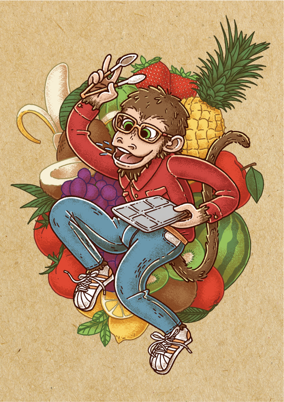 Illust of khiva September2020_Contest:Furry 節日 animal 猴子 獸人