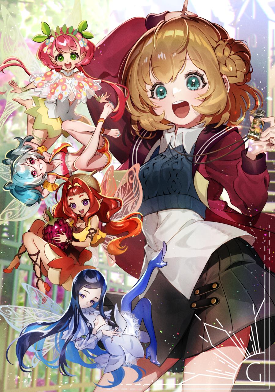 Illust of がりぼー characterdesign girl illustration
