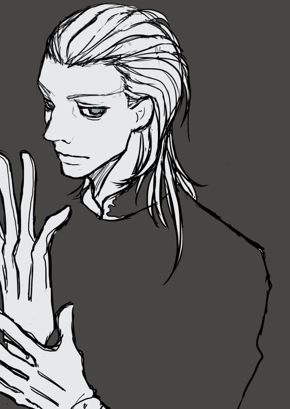 練習 Illust of かな doodle original