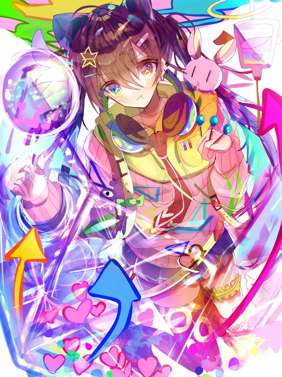 鮮烈 Illust of つぶ ARTstreet_Ranking April.2020Contest:Color medibangpaint girl oc original