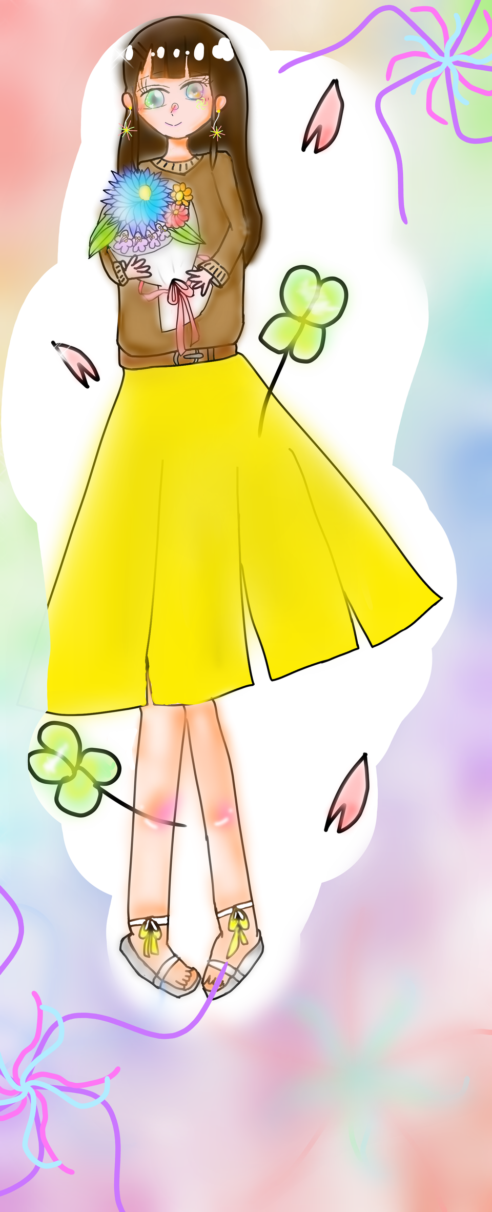 春の花束 Illust of さくらもち April2021_Flower medibangpaint