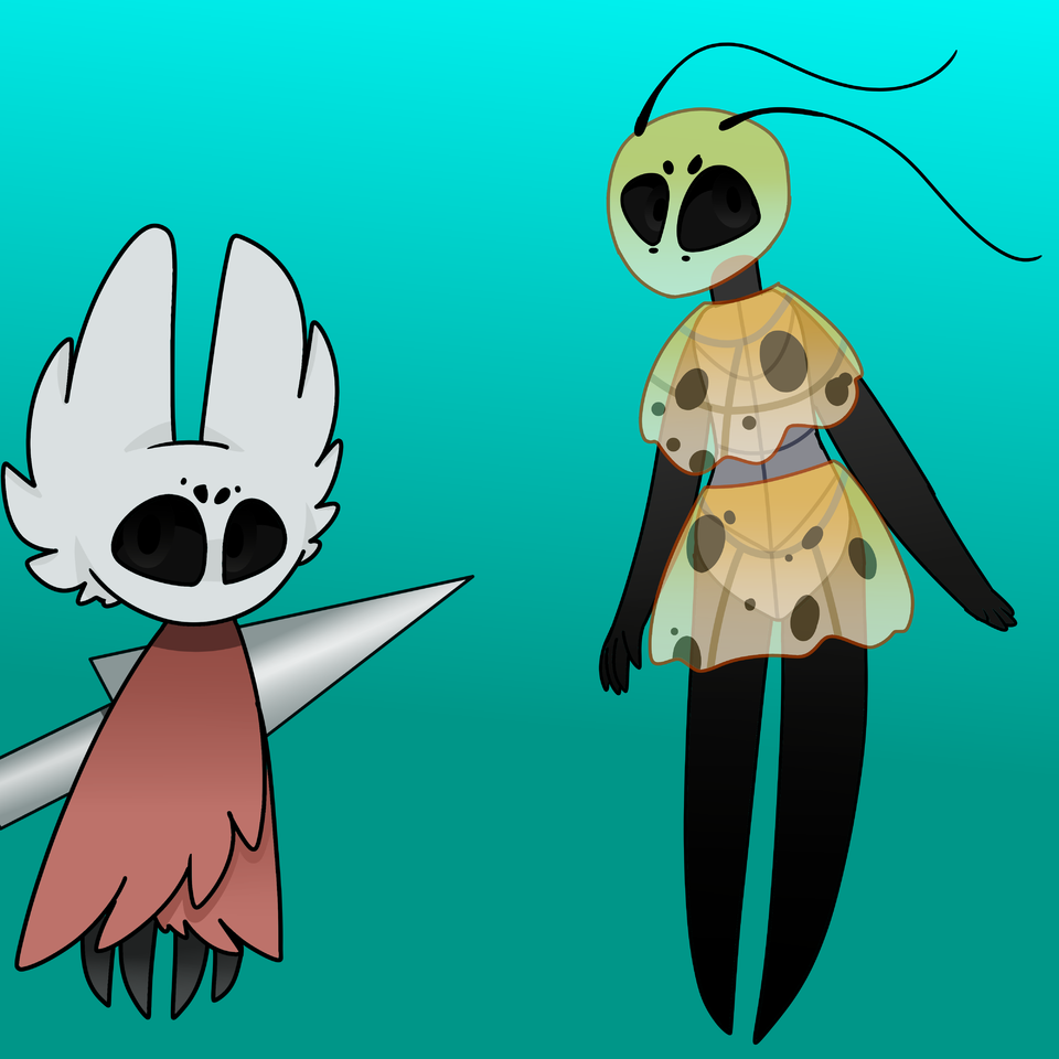 Hollow knight adopts from Squidkid64  Illust of ❄Ash❄ medibangpaint children cute Squidkid64 Hollow Knight Hollow_Knight adopts