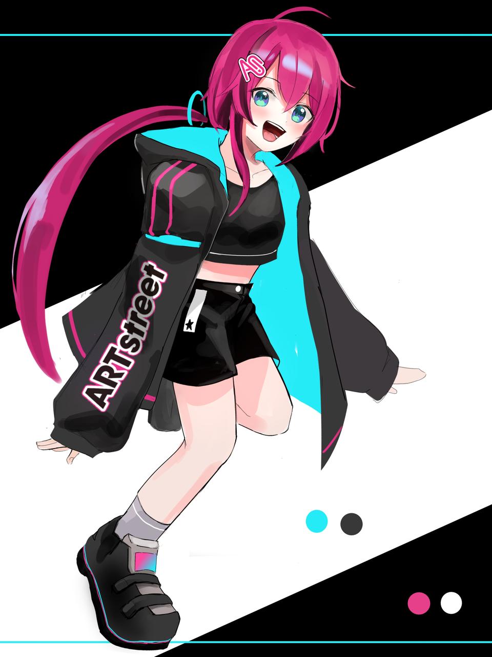 デザコン Illust of 号 ARTstreet_Design medibangpaint girl