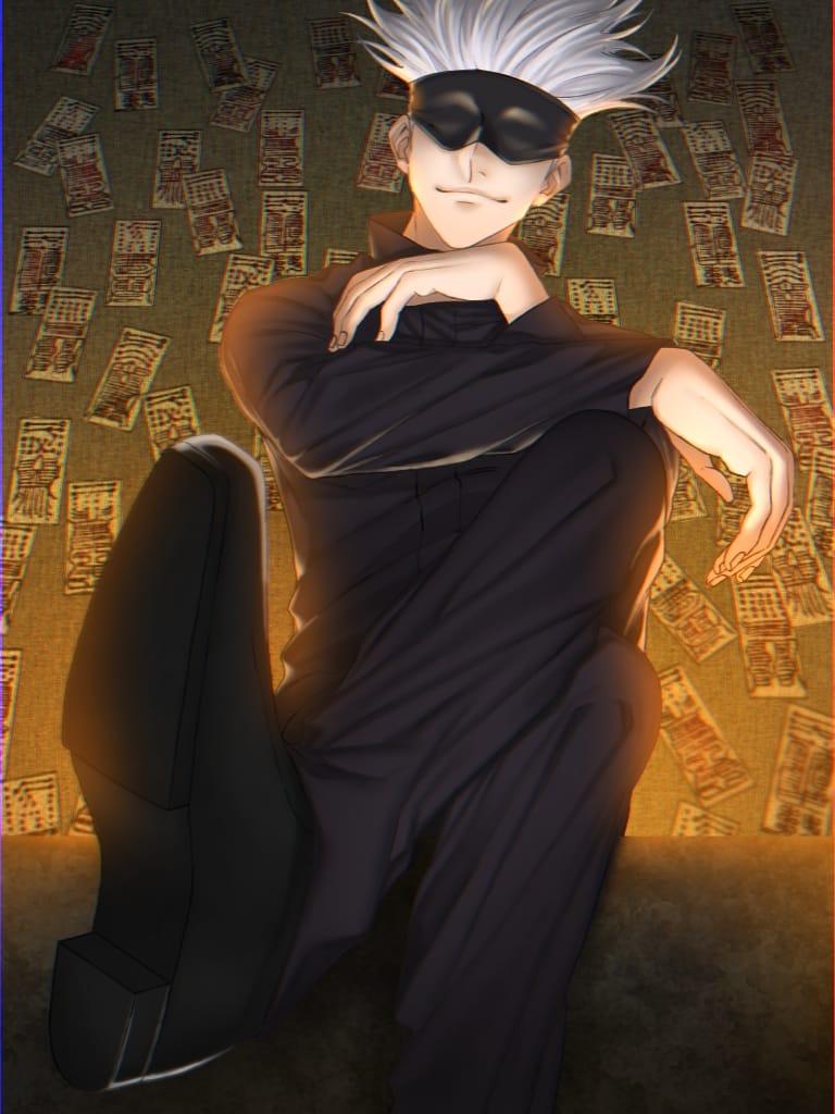 僕最強だから Illust of 柊葵 JujutsuKaisenFanartContest JujutsuKaisen SatoruGojō