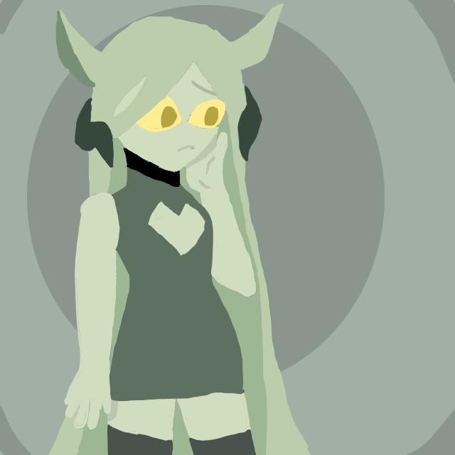 kelpie girl (idk her name) Illust of Lil devil/ KIttydoll mode Unknownspy