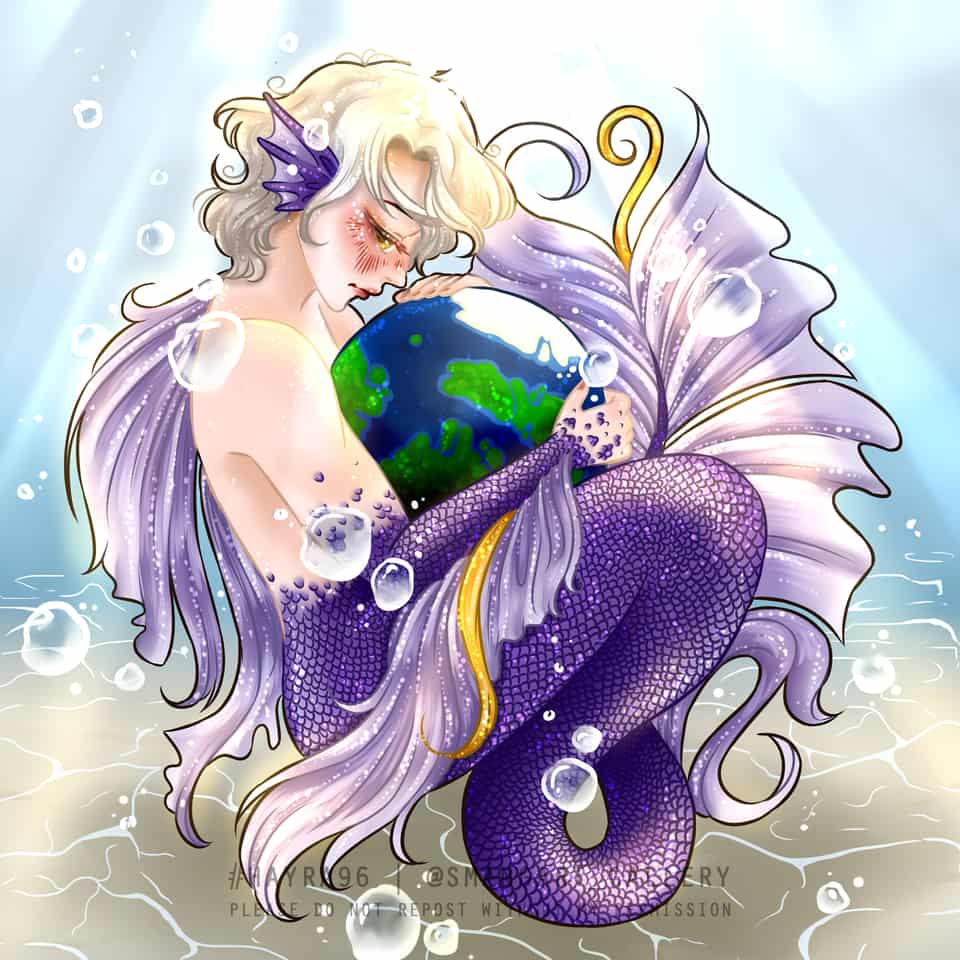 GET WELL SOON OUR EARTH Illust of Hayra96 Post_Multiple_Images_Contest Earth love smangartgallery Artwork hayra96